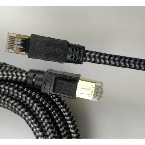 Kingwire Cat 8 Ethernet Braided RJ45 Network Cable