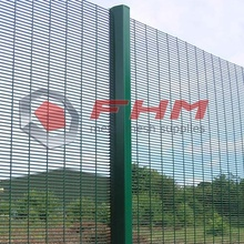 PVC Coated Galvanized 358 Anti Climb Fence