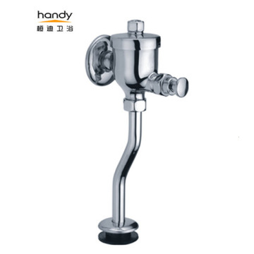 Hand Press Urinal Flush Valve For Men's Room