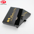 """Custom Logo Drawer Black Paper Watch Watch Box Packaging"""