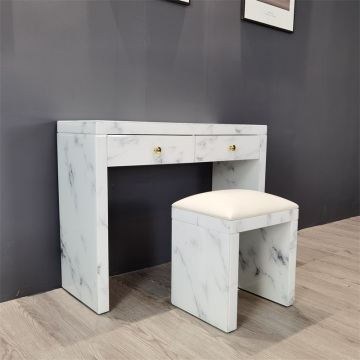 marble glass dressing table