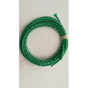 Mix Green Cotton Sleeve For Cable Beautification