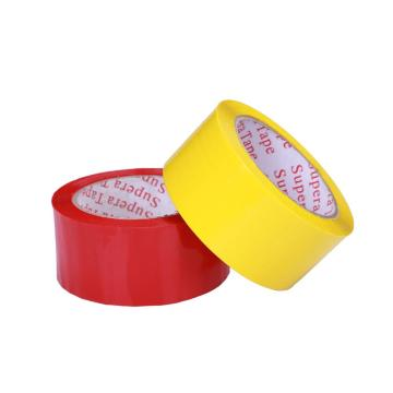 Acrylic Red PVC Tape For Carton Sealing