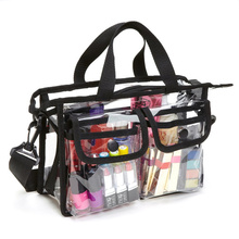 Waterproof Clear Shoulder Shcool Gym Travel Tote Bags