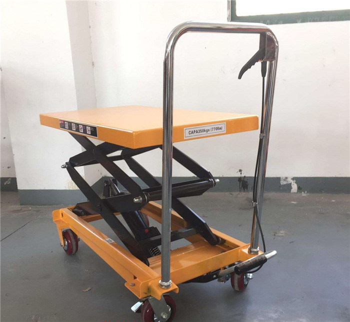 manual hydraulic platform trolley