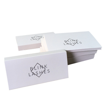 Wholesale custom handmade paper card eyelash box