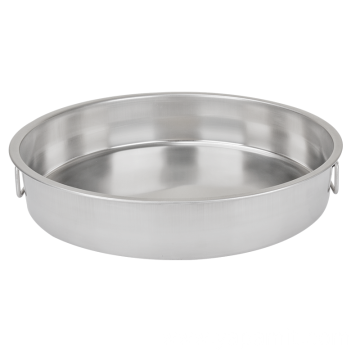 Round Stainless Steel Food Pan