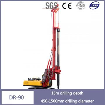 15 meter drilling rig/pile driver machine