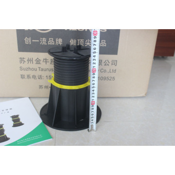 High quality adjustable plastic pallet raised floor pedestal