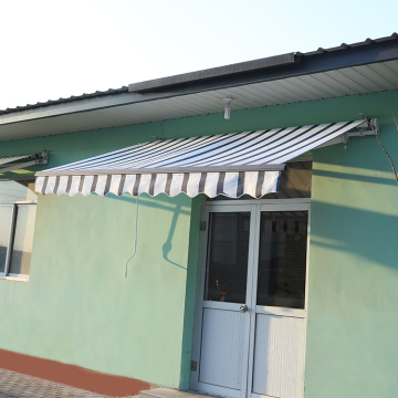 Retractable arms awning 2.5*1.2M Yellow