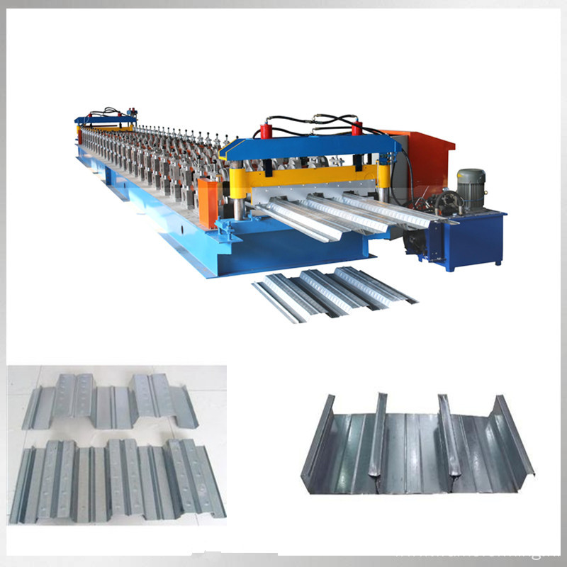 color steel floor decking roll forming machine