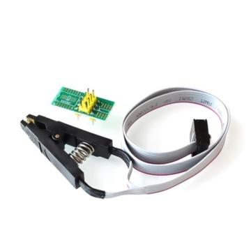 High quality SOIC8 SOP8 Test Clip For EEPROM 93CXX/25CXX/24CXX in-circuit programming on USB Programmer TL866CS TL866A EZP2010