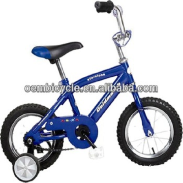 14/16/18 inch oem kids bike beach bicycle with training wheels