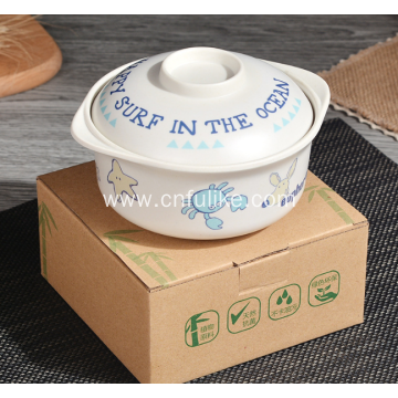 Cute Animal Cartoons Plastic Bowls for Children