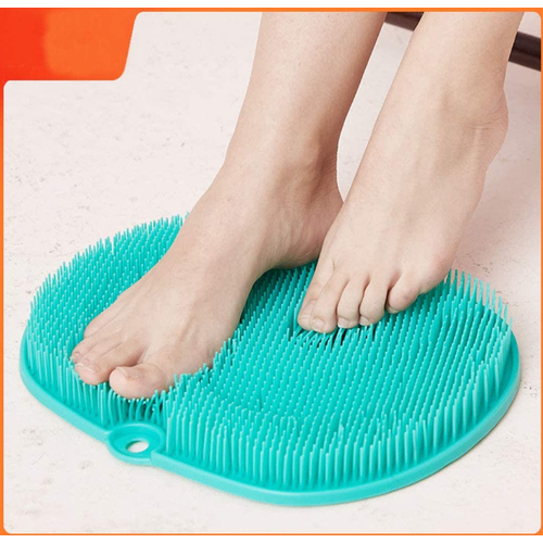 Circulation Exfoliation Silicone Foot Scrubber Massager