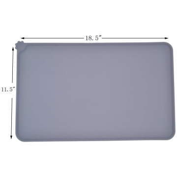 Pet Food Silicone Mat Feeding Mat Pet Mat