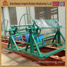 Manual steel coil decoiler machine