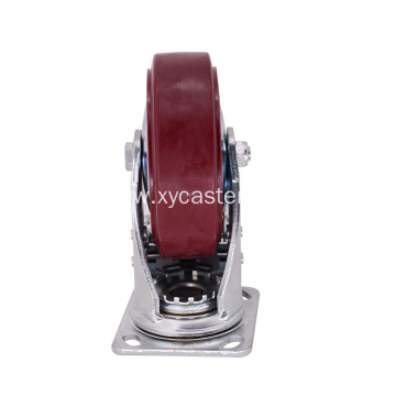 Lockable 6 Inch Caster Wheel  With Brake