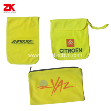 Yellow safety bags for high visible