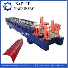 Glazed Roofing Ridge Cap Roll Forming Machine