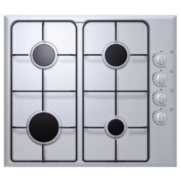 Gas Hob 600mm Stainless Steel for Kitchen