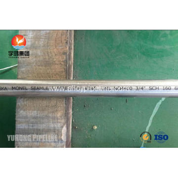 Seamless Pipe ASTM B165 UNS N04400