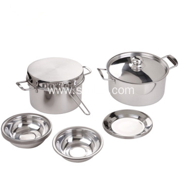 Multi-Ply Clad Stainless Steel Cookware Set