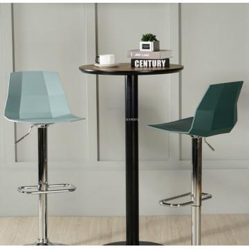 Nordic Bar Chair Backrest Home Modern Minimalist Bar Stool Rotating High Stool Creative Cash Register Lift Bar Chair