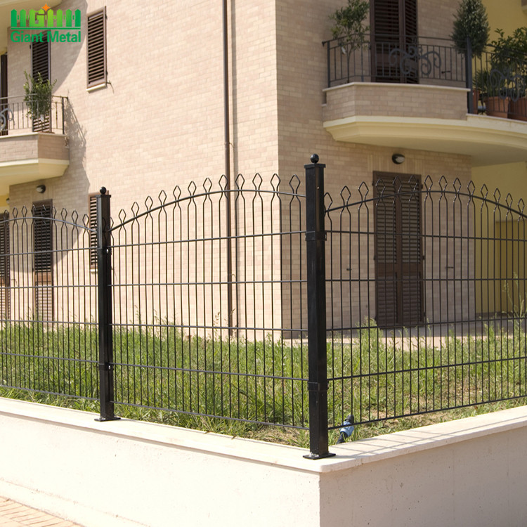 Welded Polyester Coated Decorative Prestige Mesh Fence