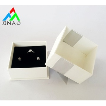 Wholesale Paper Ring Custom Jewelry Box with ribbon