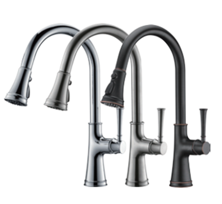Commercial Pull Down Kitchen Faucet
