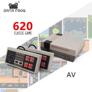 Mini TV Pocket Game Console AV 8-bit Retro Video Game Console Built-in Childhood Classic Built-in 620 Pocket Game Console Best
