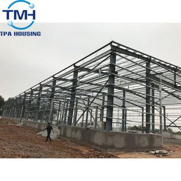 Steel large modular plant double steel structure warehouse