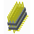 2.54mm Pin Header Three Row SMT
