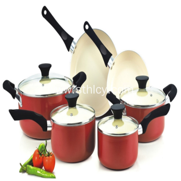 Stainless Steel Cast Aluminium Cookware