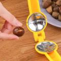 2 In 1 Quick Chestnut Clip Walnut Pliers Metal NutCracker Sheller Nut Opener Kitchen Tools Cutter Gadgets Hot Sale