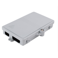2 ports Outdoor Wall Mounted Fiber Terminal Box