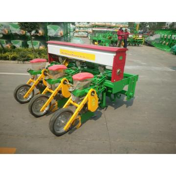Crop sowing mechanical fertilizing planter with no-till