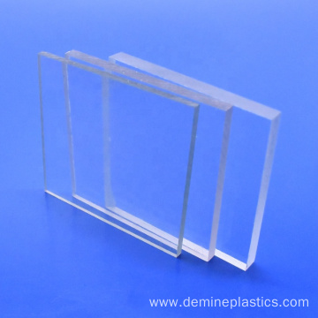 Transparent solid polycarbonate building ceiling panel
