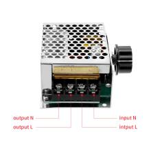 4000W SCR Voltage Regulators Dimmer 220V AC Motor Speed Controller Governor Thermostat Electronic Adjust Volt Stabilizer Module