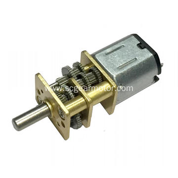 Especificación do motor de engrenaxes de corrente continua 12v 30 rpm
