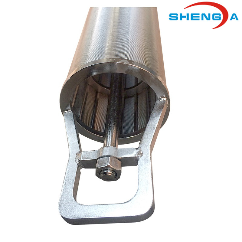 Wedge Wire Paper Pulp Processing Filter Pipe