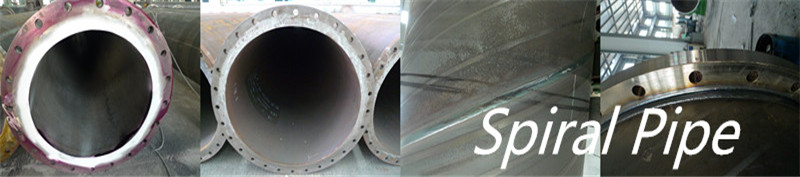 welded steel spiral pipes