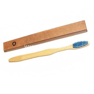 Customized logo Biodegradable Bamboo Eco Toothbrush