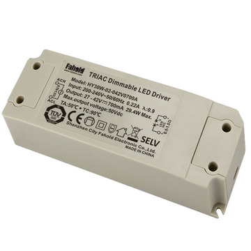 CE 220-240V 700mA controlador de parpadeo sin parpadeo regulable