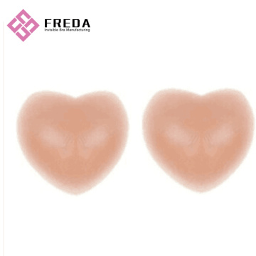 Heart Shape Nude Silicone Bra Stickers
