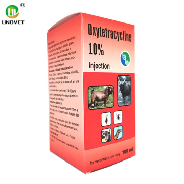 Long Acting Oxytetracycline Hcl Injection 10%