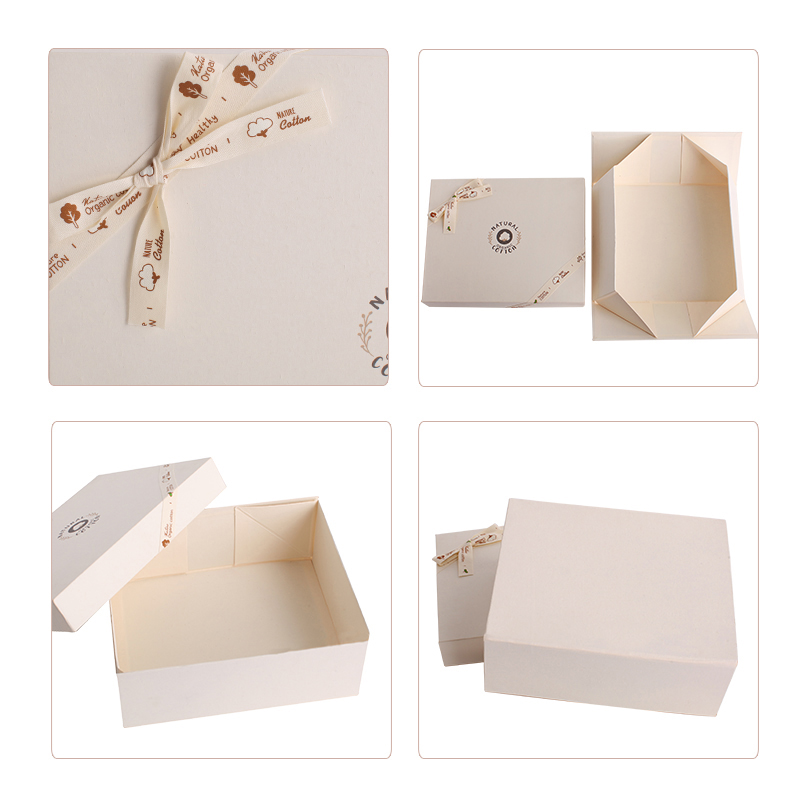 Custom Logo Printing Foldable Baby Born Gift Box