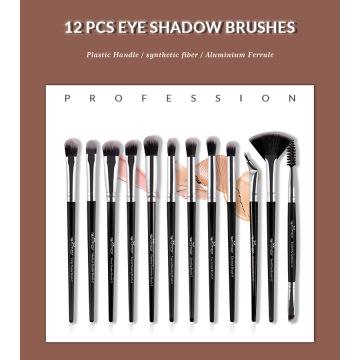 12Pcs Eye makeup brush set professional vendor