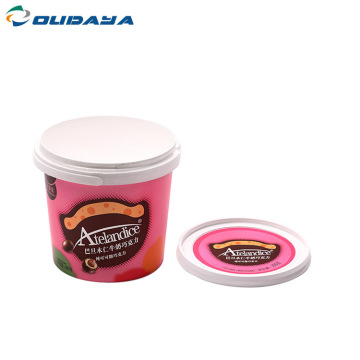 Round food container 1000ml transparen iml container